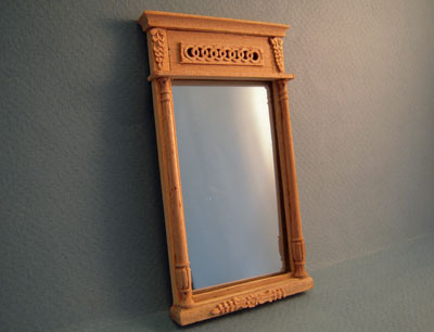 Bespaq Classique Unfinished Wall Mirror 1:12 scale