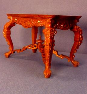 Bespaq Walnut Lobby Letter Desk 1:12 scale