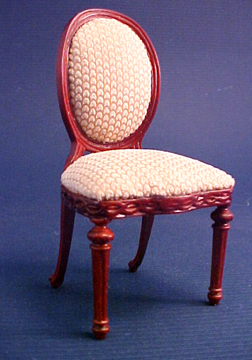 Bespaq Rich Beige Side Chair 1:12 scale