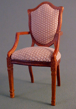 Bespaq Shield Back Arm Chair 1:12 scale