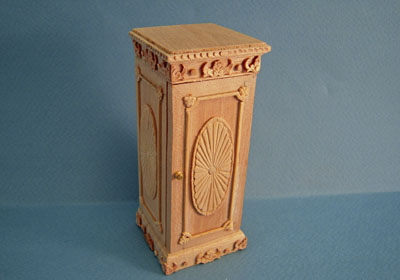 Bespaq Unfinished Regency Plant Stand 1:12 scale