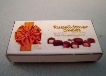 Miniature Chocolate Box 1:12 scale