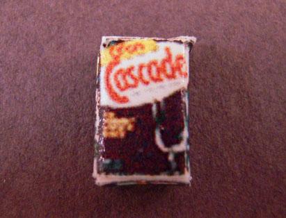 Hudson River Hand Crafted Miniature Box Of Dish Washing Powder 1:24