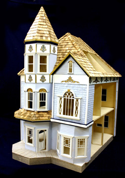 Majestic Mansions Victorian Dunwoody Dollhouse Kit 1 12 Scale