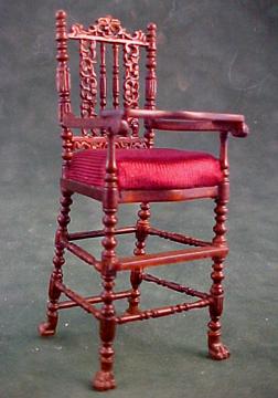Bespaq Wexburgh High Chair 1:12 scale