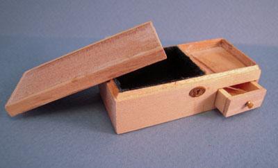 Bespaq Unfinished Treasure Box 1:12 scale