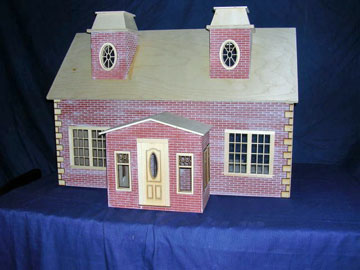 Alessio Miniatures Assembled Country Estate 1:12 scale
