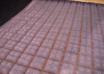 Houseworks Grey Glass Mosaic Flat Tile Sheet 1:12 scale