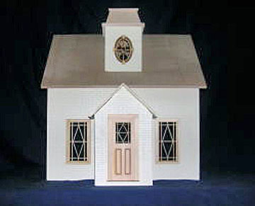 Alessio Miniatures Assembled Denny's Cottage 1:12 scale
