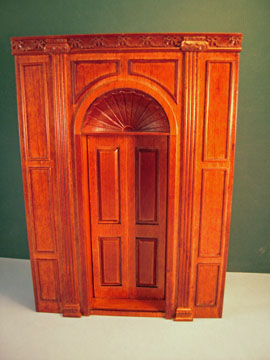 Miniature Bespaq Manor Door Unit 1:12 scale