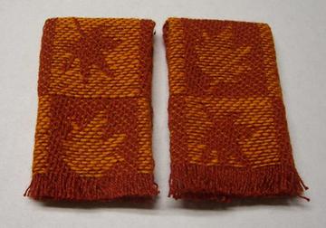 Autumn Leaf Kitchen Towel Set 1:12 scale