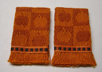 Pumpkin Kitchen Towel Set 1:12 scale