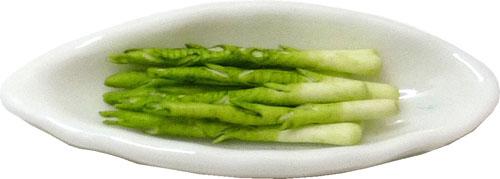 Asparagus On An Oval Platter 1:12