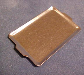Metal Cookie Sheet 1:12 scale