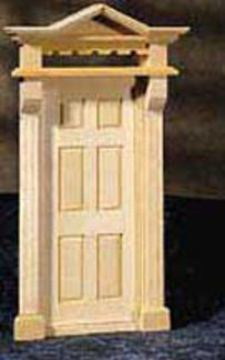Houseworks Exterior Victorian Door 1:24 scale
