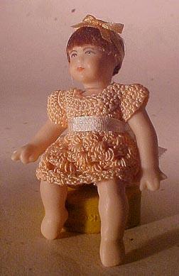 Cindy's Dollhouse Precious Little Girl 1:12 scale