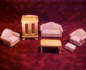 Townsquare Modern Living Room Set 1:24 scale