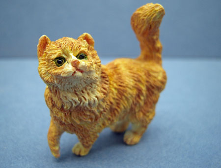 Orange Striped Kitty 1:12 scale