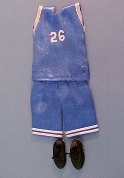 Falcon Basketball Uniform 1:12 scale