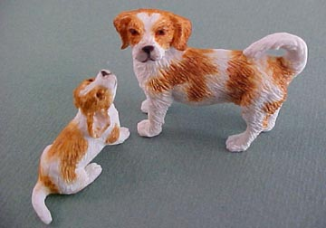 Two Beagles 1:12 scale