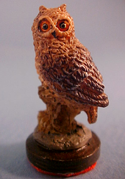 Falcon Owl Statue 1:12 scale