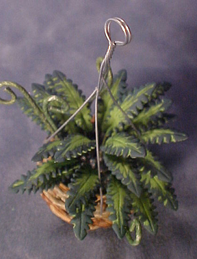 Bright deLights Hanging Fern 1:12 scale