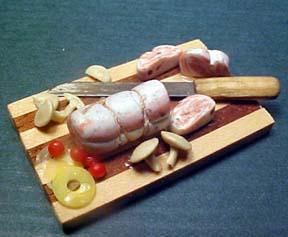 Pork Tenderloin 1:12 scale