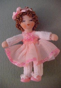 Ethel Hicks Baby Ballerina 1:12 scale