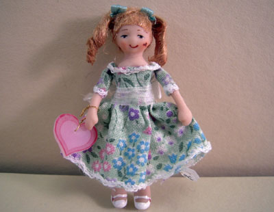 Ethel Hicks Angel Children Sally Anne A Sweetheart Limited Edition Doll 1:12 scale