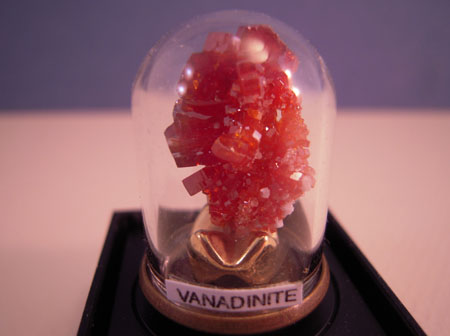 Artistic Florals Firey Vanadinite Crystal Stone 1:12 scale