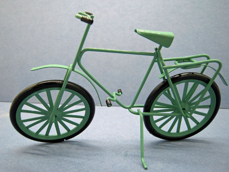 Large Green Bicycle 1:12 scale