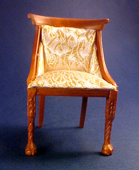Hannson Walnut Side Chair 1:12 scale
