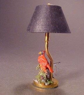 Cardinal Table Lamp 1:12 scale