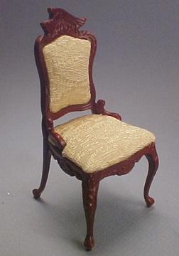 Bespaq Art Neuveau Mahogany Chair 1:12 scale