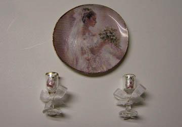 By Barb Decorative Bridal Set 1:12 scale