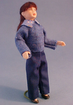 Cindy's Dollhouse Bailey In Blue 1:12 scale