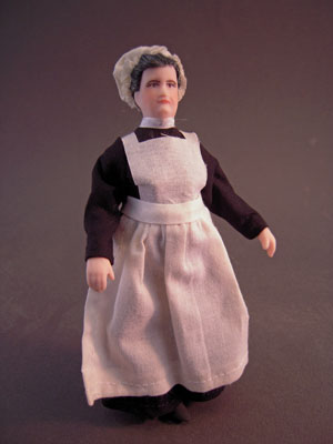 Cindy's Dollhouse Handcrafted Bessy The Housekeeper/Nanny 1:12 scale