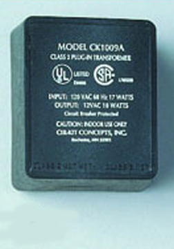 Cir-Kit Concepts 12 Volt 10 Watt Plug-In Transformer with Circuit Breaker 1:12 scale