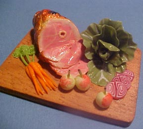 Cooked Ham 1:12 scale