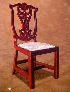 Townsquare Chippendale Side Chair 1:12 scale