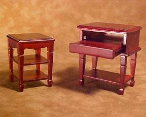 Michelle Mahogany Computer Stand 1:12 scale