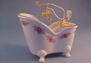 Reutter Dresden Rose Soaking Tub 1:12 scale