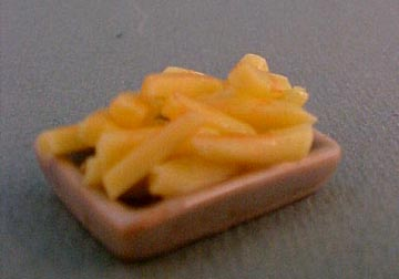 Tray of French Fries 1:12 scale