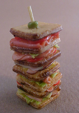 Mile High Sandwich 1:12 scale