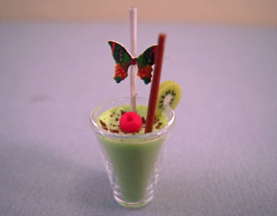 Bright deLights Grasshopper Frozen Tropical Drink 1:12 scale
