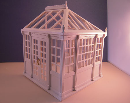 Townsquare Miniatures Fully Assembled Conservatory 1:24 scale