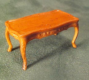 Bespaq Fruit Wood Bouvier Coffee Table 1:24 scale