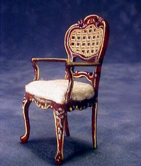Bespaq Miniature Half Portia Arm Chair 1:24 scale