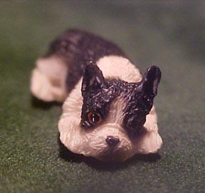 Falcon Miniature Boston Terrier 1:24 scale