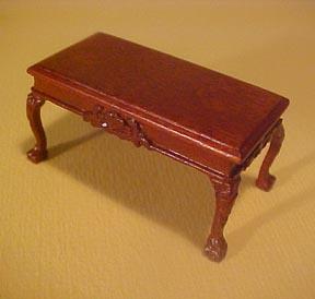 Bespaq Miniature Thomas Coffee Table 1:24 scale